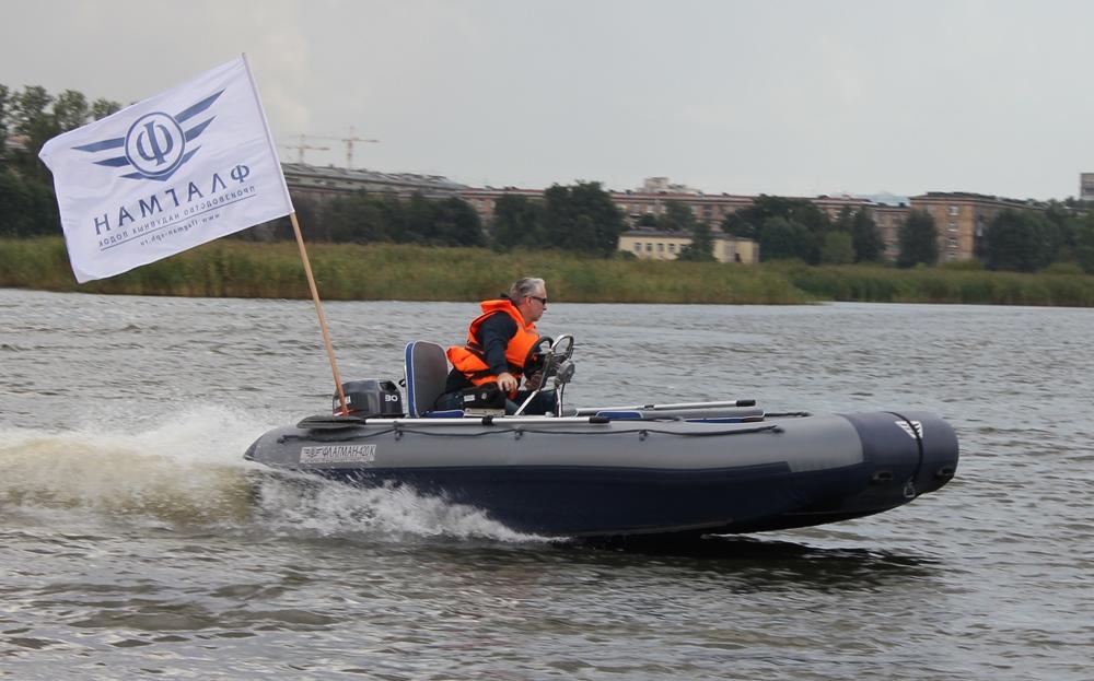 тест драйв лодки флагман