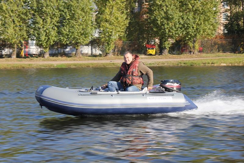 лодка поливинилхлоридный  правофланговый 330u