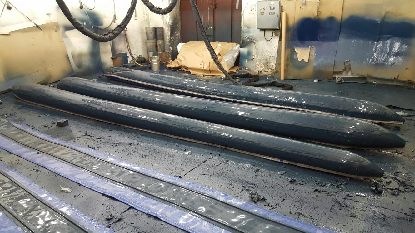 полимерная защита дна лодки пвх