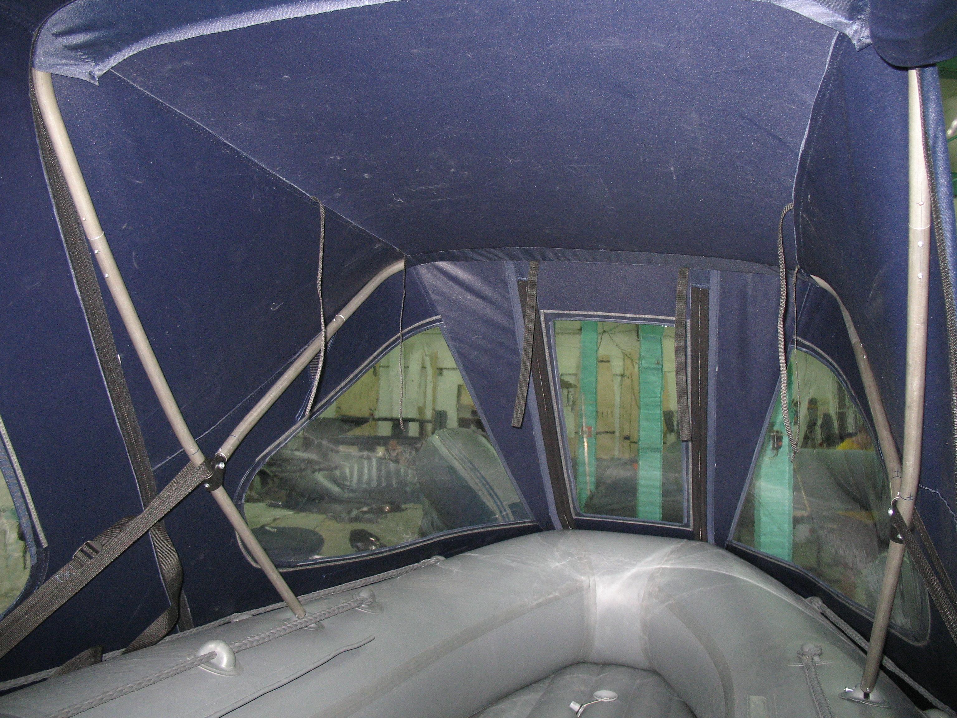 Тент на лодку флагман 320