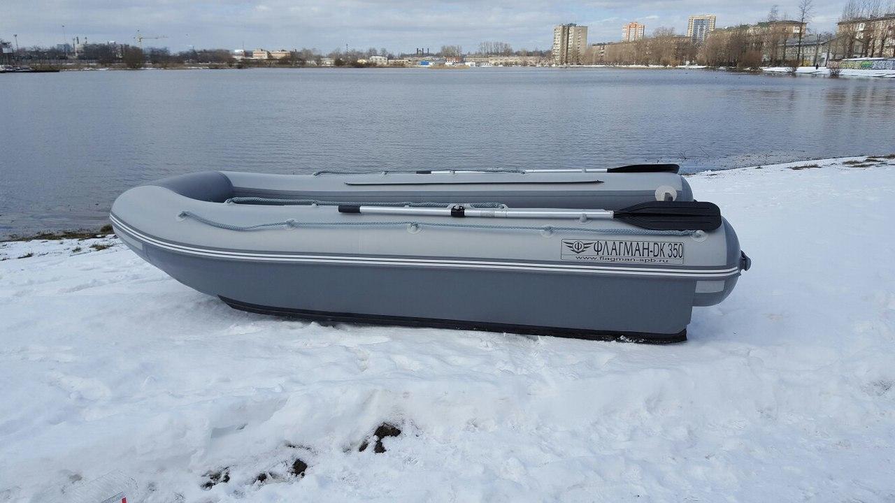 Хранение лодки зимой