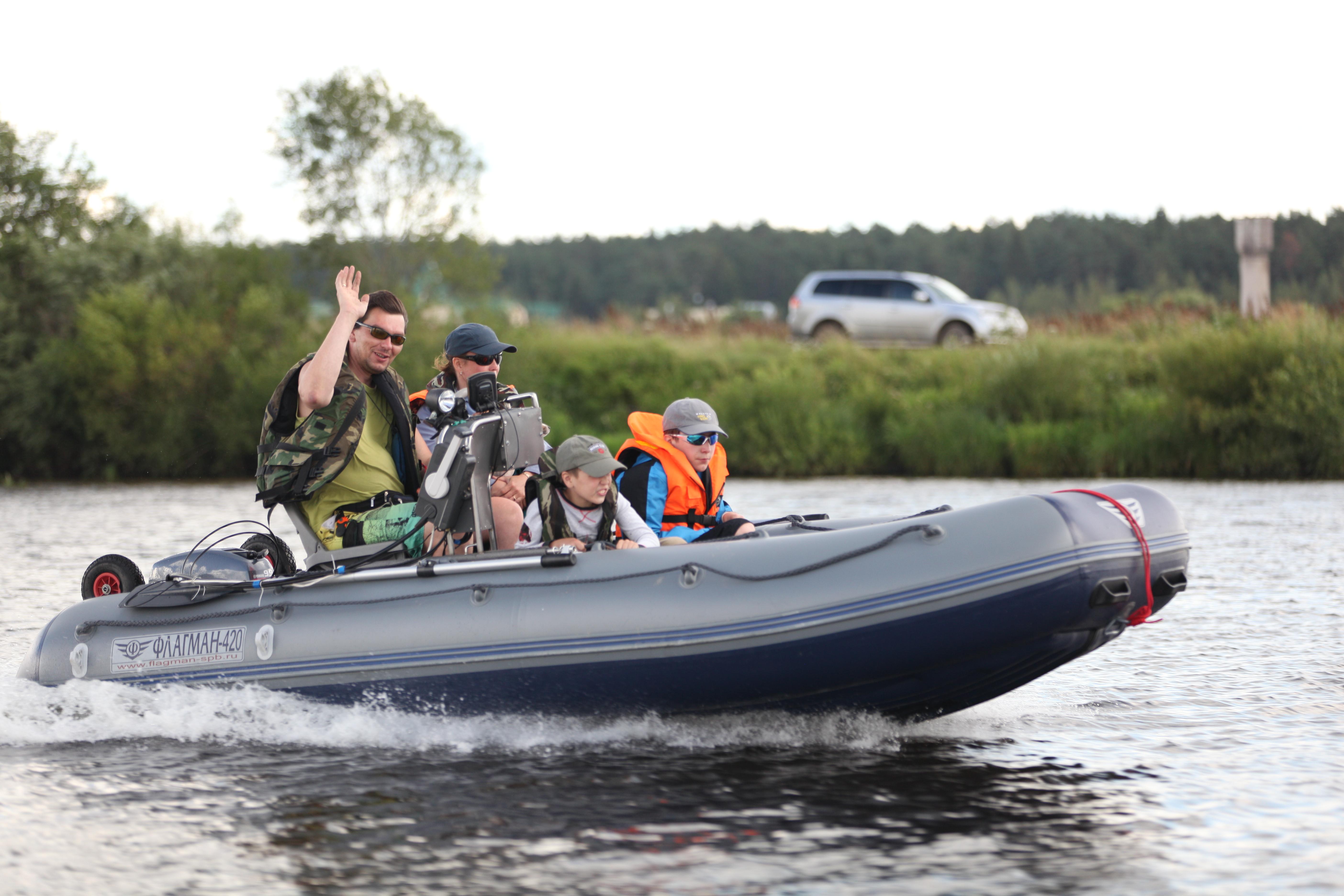 Выбор ПВХ лодки с жестким дном