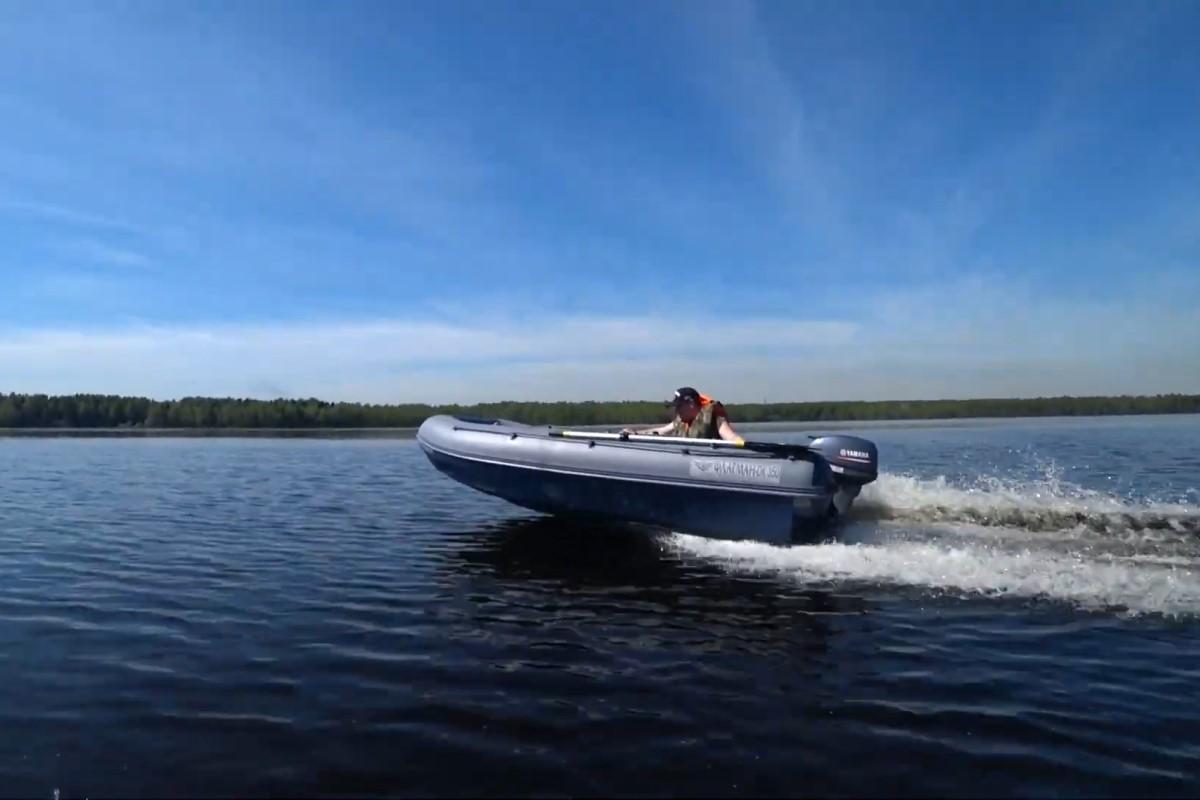 Нанесение на лодку ПВХ регистрационного номера