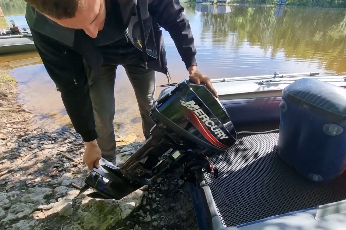 Обкатка мотора для лодки