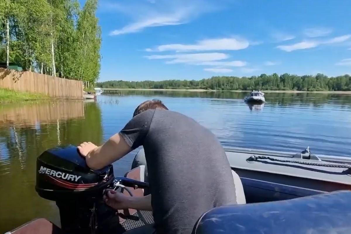 Установка лодочного мотора на пвх лодку
